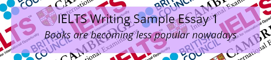 IELTS Writing Task 2 Sample Essay 1